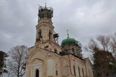 Chiesa della pietra di Novo-ascensione, Toržok, Russia immagine stock