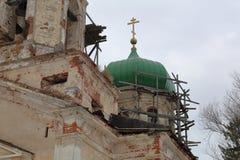 Chiesa della pietra di Novo-ascensione, Toržok, Russia fotografia stock