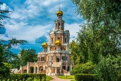 Chiesa della protezione della Vergine Santa in Fili Fotografia Stock Libera da Diritti