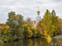 Chiesa della resurrezione a San Pietroburgo Fotografia Stock