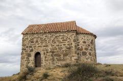 Chiesa della risurrezione Monastero Udabno fotografia stock
