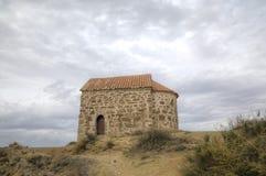 Chiesa della risurrezione Monastero Udabno fotografia stock libera da diritti