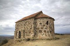 Chiesa della risurrezione Monastero Udabno fotografie stock