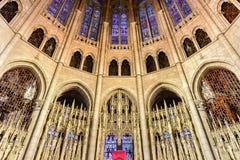 Chiesa della riva del fiume - New York Fotografia Stock Libera da Diritti