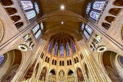 Chiesa della riva del fiume - New York Immagine Stock Libera da Diritti