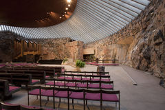 Chiesa della roccia Fotografie Stock