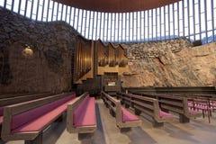 Chiesa della roccia Fotografia Stock Libera da Diritti