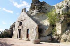 Chiesa della roccia degli ischi Immagine Stock