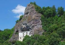 Chiesa della roccia, Idar-Oberstein, Germania fotografie stock