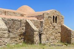 Chiesa della S Giovanni del Sinis Fotografia Stock Libera da Diritti