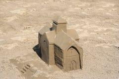 Chiesa della sabbia fotografia stock libera da diritti