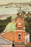 Chiesa della Santissima Annunziata salerno italy royaltyfria foton