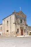 Chiesa della st Agostino. Trani. La Puglia. L'Italia. Fotografia Stock Libera da Diritti