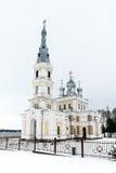 Chiesa della st Alexander Nevsky in Stameriena, Lettonia Fotografie Stock Libere da Diritti