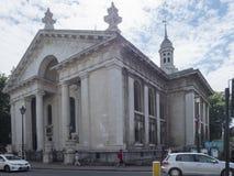 Chiesa della st Alfege, Greenwich Village Londra immagine stock