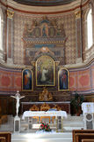 Chiesa della st Aloysius in Travnik, Bosnia-Erzegovina Immagine Stock Libera da Diritti