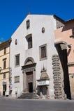 Chiesa della st Angelo in Spatha. Viterbo. Il Lazio. L'Italia. Fotografia Stock