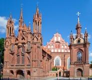 Chiesa della st Anne e monastero di Bernardine Fotografia Stock