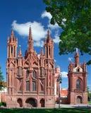 Chiesa della st Anne e monastero di Bernardine Immagini Stock Libere da Diritti