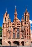 Chiesa della st Anne e monastero di Bernardine Fotografie Stock