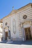 Chiesa della st Annunziata. Sant'Agata di Puglia. La Puglia. L'Italia. Immagini Stock