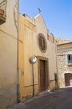 Chiesa della st Antonio Genzano di Lucania L'Italia Fotografia Stock Libera da Diritti
