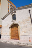 Chiesa della st Antonio Laterza La Puglia L'Italia Immagini Stock Libere da Diritti