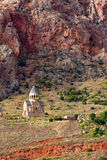 Chiesa della st Antvatsatsin del complesso del monastero di Noravank in Vayots Fotografia Stock