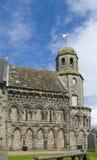 Chiesa della st Athernase o di Leuchars, Fife Fotografia Stock