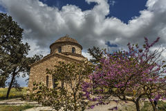 Chiesa della st Barnabas, Cipro Fotografie Stock Libere da Diritti