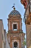 Chiesa della st Benedetto. Conversano. La Puglia. L'Italia. Immagini Stock Libere da Diritti