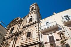 Chiesa della st Benedetto Delle Fonti di Acquaviva La Puglia L'Italia Fotografia Stock Libera da Diritti