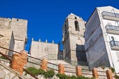 Chiesa della st Benedetto. Monte Sant ' Angelo. La Puglia. L'Italia. Fotografia Stock