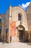 Chiesa della st Biagio Altamura La Puglia L'Italia Fotografie Stock