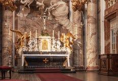 Chiesa della st Charles vienna Fotografie Stock Libere da Diritti