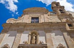 Chiesa della st Chiara Altamura La Puglia L'Italia Fotografia Stock Libera da Diritti