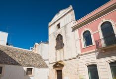Chiesa della st Chiara Noci La Puglia L'Italia Immagine Stock