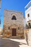 Chiesa della st Chiara Turi La Puglia L'Italia Fotografia Stock