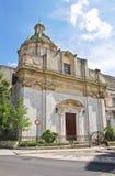 Chiesa della st Domenico Altamura La Puglia L'Italia Immagine Stock