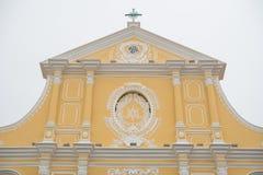 Chiesa della st Dominic Domingos Il largo fa Senado a Macao Immagini Stock Libere da Diritti