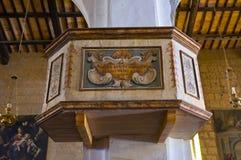 Chiesa della st Donato. Civita di Bagnoregio. Il Lazio. L'Italia. Fotografia Stock