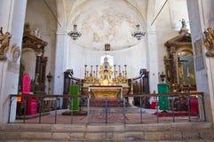 Chiesa della st Donato. Civita di Bagnoregio. Il Lazio. L'Italia. Immagini Stock