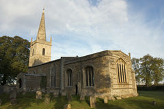 Chiesa della st Edmund in Egleton Fotografia Stock Libera da Diritti