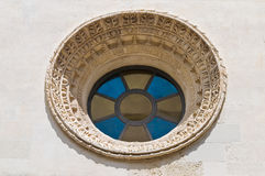 Chiesa della st Elisabetta. Lecce. La Puglia. L'Italia. Fotografia Stock Libera da Diritti