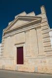 Chiesa della st Francesco Di Bari di Sammichele La Puglia L'Italia Immagini Stock Libere da Diritti