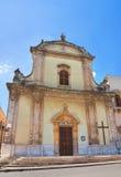 Chiesa della st Francesco Fasano La Puglia L'Italia Immagini Stock Libere da Diritti