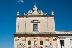 Chiesa della st Francesco Martina Franca La Puglia L'Italia Immagine Stock