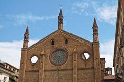 Chiesa della st Francesco. Piacenza. L'Emilia Romagna. L'Italia. Fotografia Stock