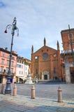 Chiesa della st Francesco Piacenza L'Emilia Romagna L'Italia Immagine Stock