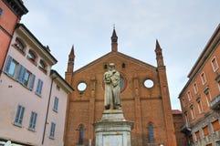 Chiesa della st Francesco Piacenza L'Emilia Romagna L'Italia Fotografia Stock Libera da Diritti
